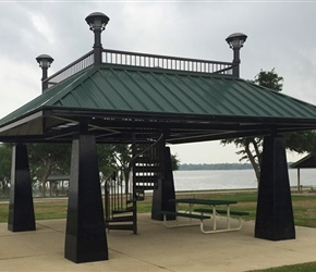 Steel Park Shelters