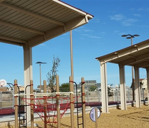 Athletic Field Shelters