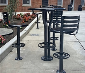 Victor Stanley Bistro Tables